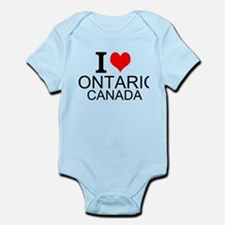 I Love Ontario, Canada Body Suit