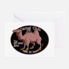 24 HOUR CAMEL Greeting Cards