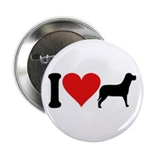 """I Love Dogs (design) 2.25"""" Button (100 pack)"""