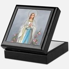 Blessed Virgin Mary Keepsake Box