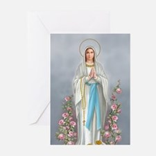 Blessed Virgin Mary Greeting Cards (Pk of 20)
