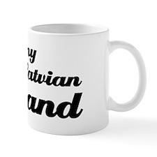 I love my Latvian Husband Mug