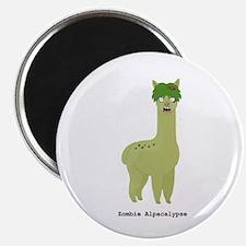Zombie Alpacalypse Magnets