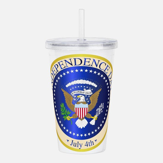 Independence Day Seal Acrylic Double-wall Tumbler