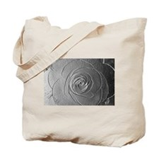 Metallic Rose Tote Bag