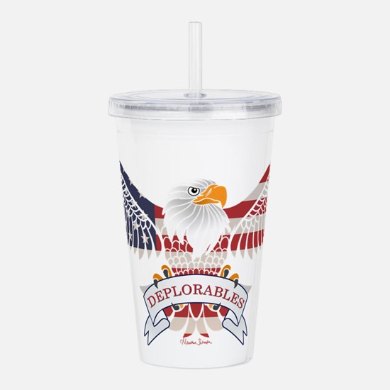 Deplorables Acrylic Double-wall Tumbler