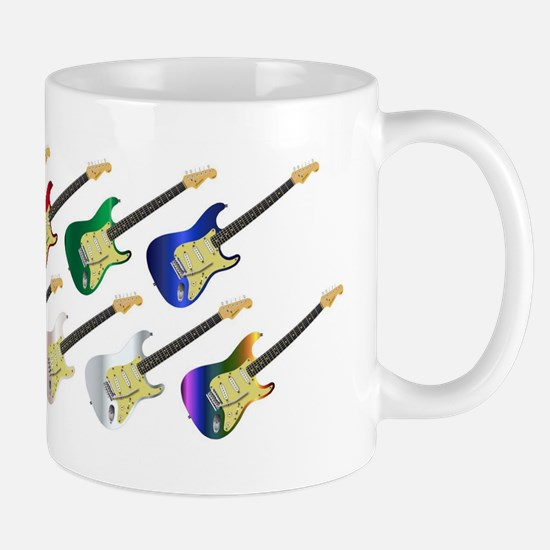 Electric Guitar Collection Mugs