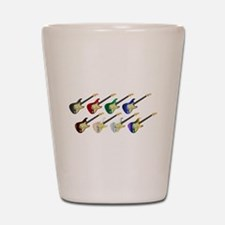 Electric Guitar Collection Shot Glass