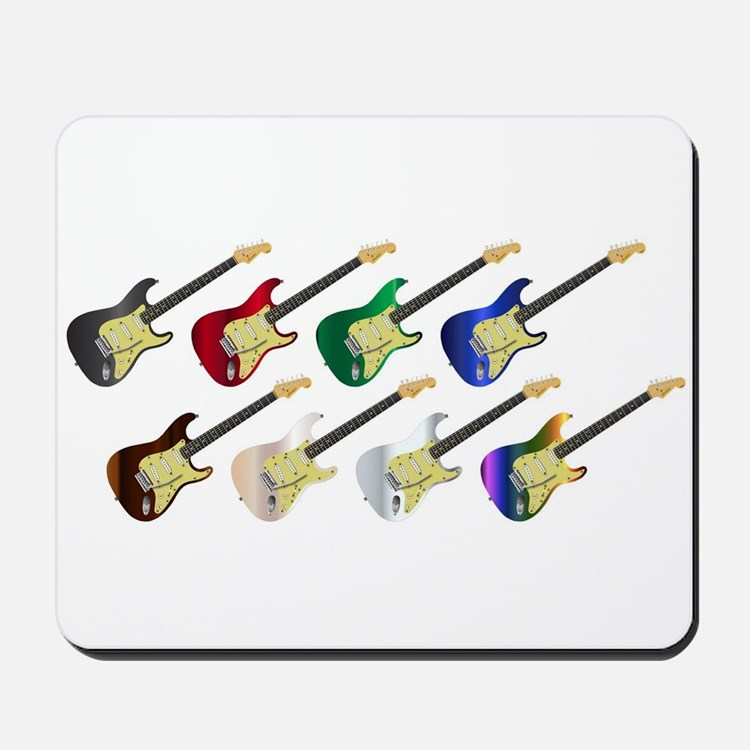 Electric Guitar Collection Mousepad