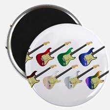 Electric Guitar Collection Magnets