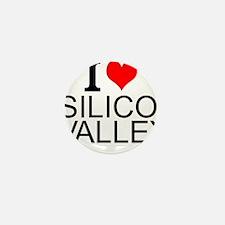I Love Silicon Valley Mini Button