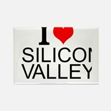 I Love Silicon Valley Magnets