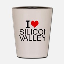 I Love Silicon Valley Shot Glass