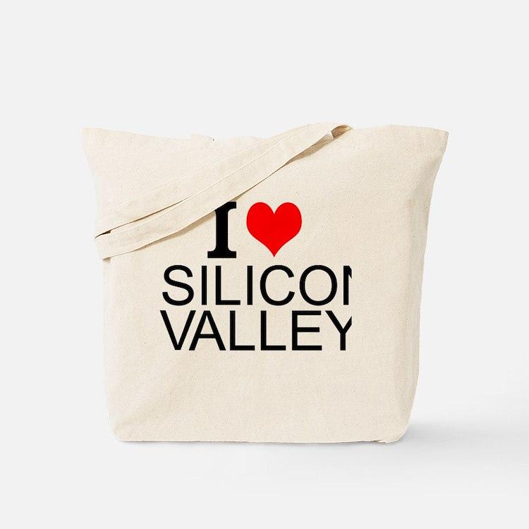 I Love Silicon Valley Tote Bag
