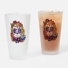 Best Seller Sugar Skull Drinking Glass