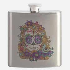 Best Seller Sugar Skull Flask
