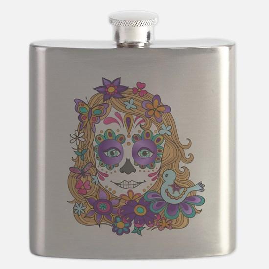 Best Seller Sugar Skull Flask