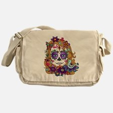 Best Seller Sugar Skull Messenger Bag