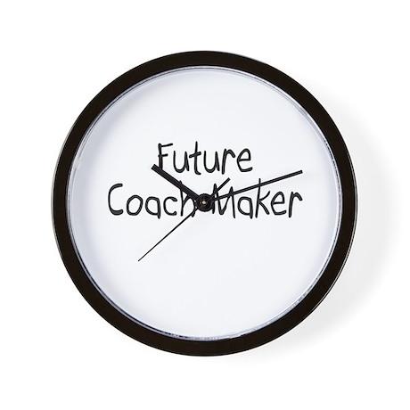 Future Coach Maker Wall Clock