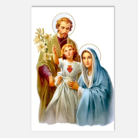 The Holy Family (Style 2) Postcards (Package of 8)