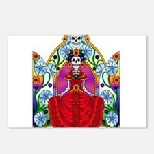 Best Seller Sugar Skull Postcards (Package of 8)
