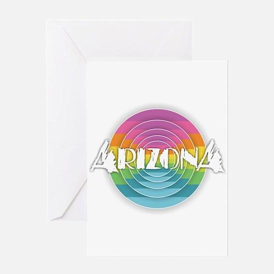 Arizona Rainbow Greeting Cards