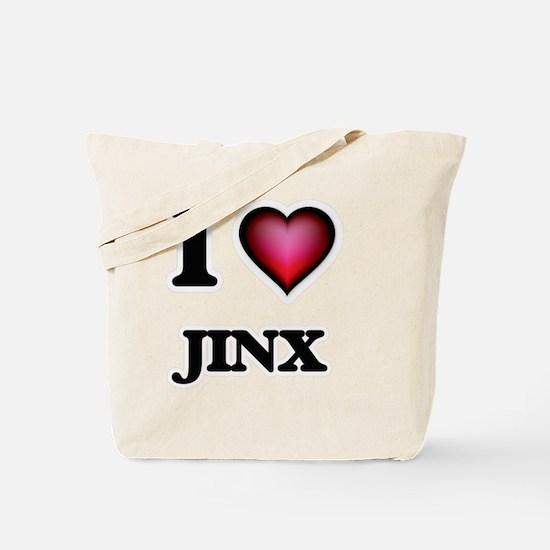 I Love Jinx Tote Bag
