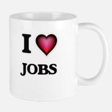 I Love Jobs Mugs