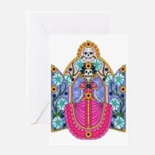 Cool Calavera Greeting Card