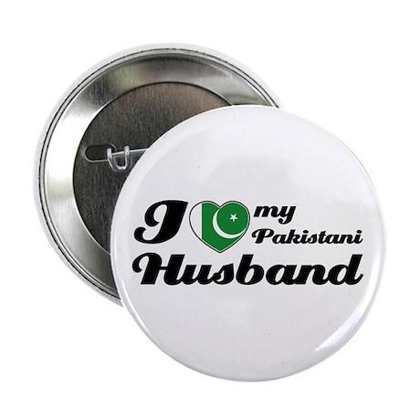 """I love my Pakistani Husband 2.25"""" Button (100 pack"""