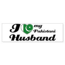 I love my Pakistani Husband Bumper Bumper Sticker