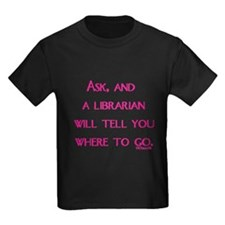 Ask, and a librarian will tel T