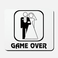 Wedding Symbol: Game Over Mousepad