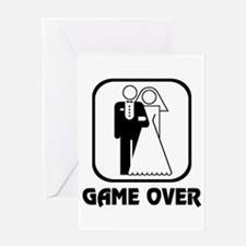 Wedding Symbol: Game Over Greeting Card