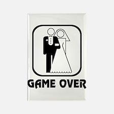 Wedding Symbol: Game Over Rectangle Magnet