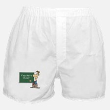 Teachers Rule Boxer Shorts
