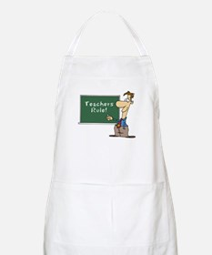 Teachers Rule BBQ Apron