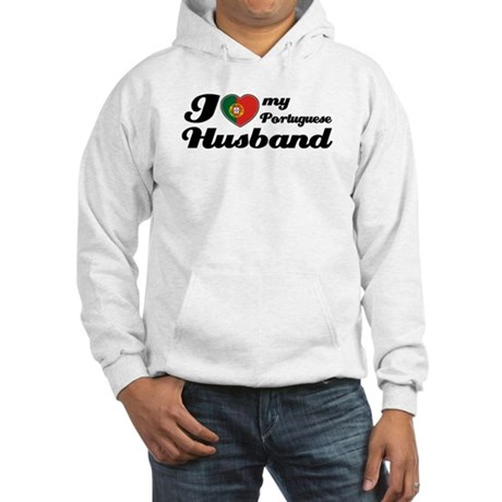 I love my Portuguese husband Hooded Sweatshirt