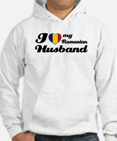 I love my Romanian Husband Hoodie