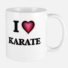 I Love Karate Mugs