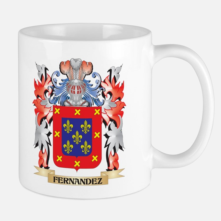 Fernandez Coat of Arms - Family Crest Mugs