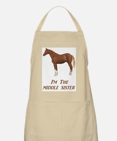 I'm the Middle Sister Apron