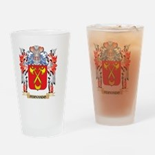 Fernando Coat of Arms - Family Cres Drinking Glass
