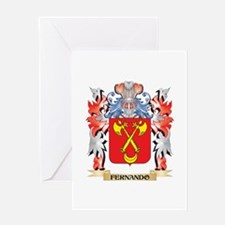 Fernando Coat of Arms - Family Cres Greeting Cards