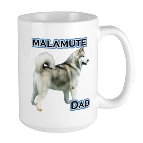 Malamute Dad4 Large Mug