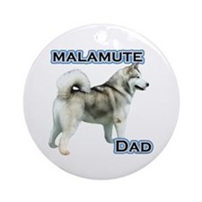 Malamute Dad4 Ornament (Round)