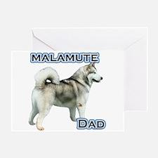 Malamute Dad4 Greeting Card