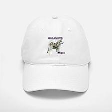 Malamute Mom4 Baseball Baseball Cap