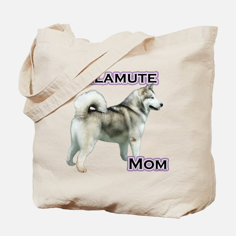 Malamute Mom4 Tote Bag