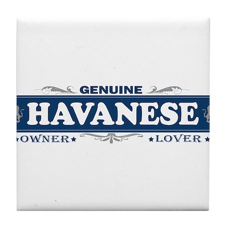 HAVANESE Tile Coaster